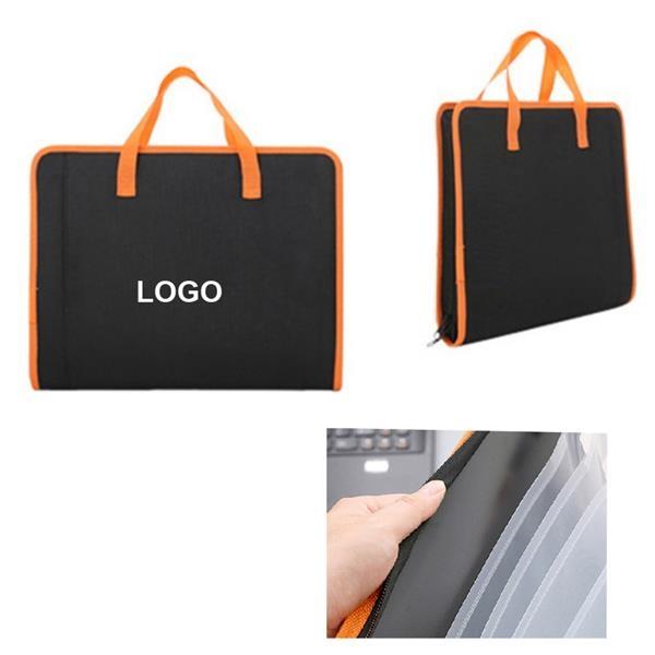 13 Pockets Envelope File Bag