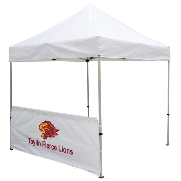 8' Tent Half Wall (Full-Color Imprint)