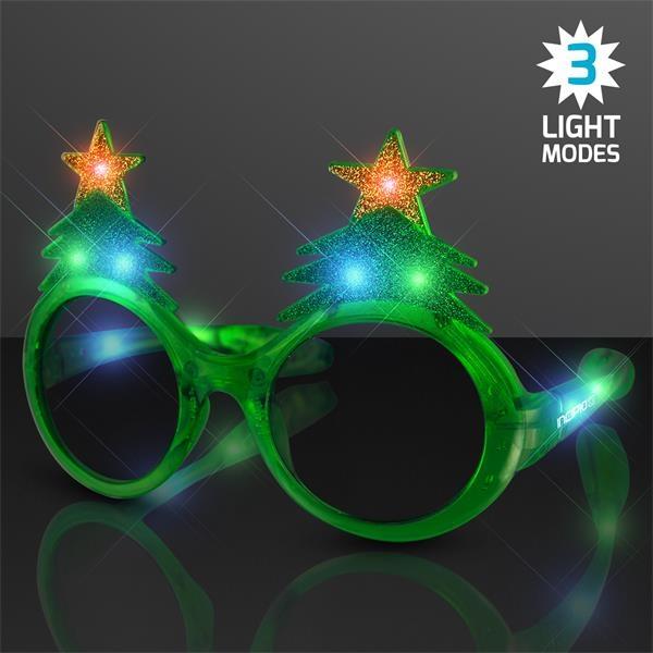 Light Up Christmas Tree Sunglasses, 60 day overseas