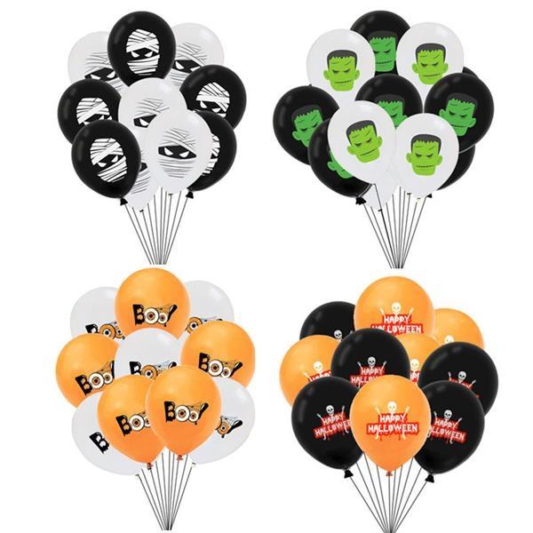 Halloween Latex Balloon 12