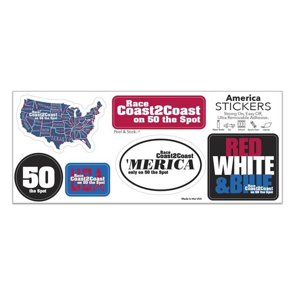 American Stock Stickers
