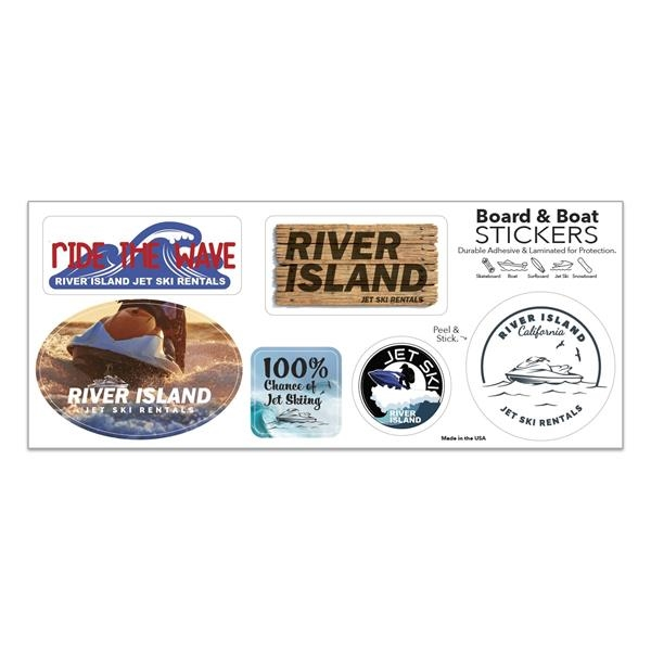 Board and Boat Stickers