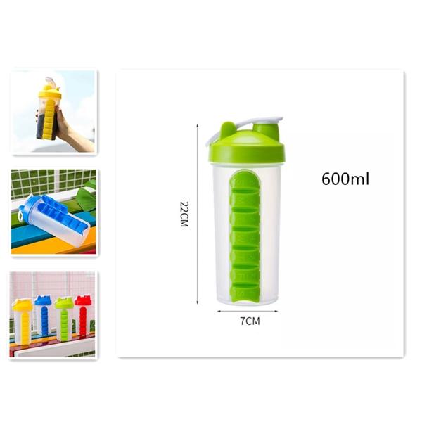 Sports Pill Combine Bottles
