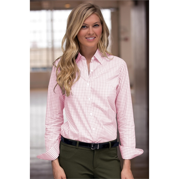 Women's Easy-Care Gingham Check Shirt