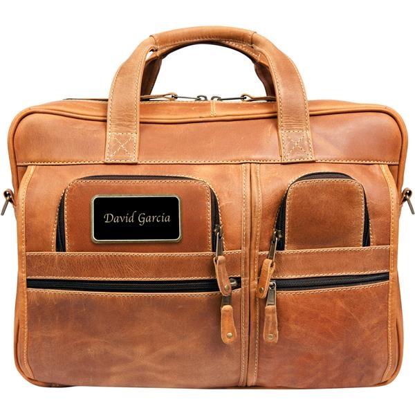 Casa Grande Canyon Leather Briefcase