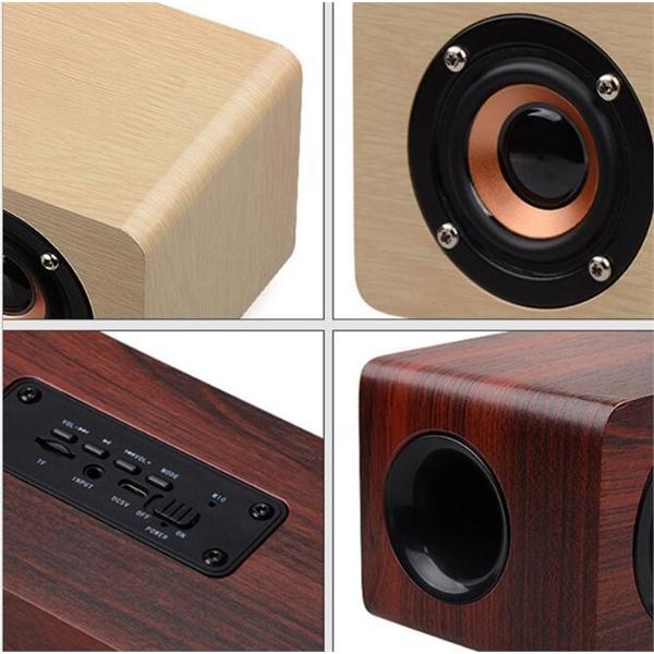 Classic Wooden bluetooth speaker