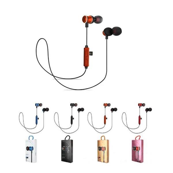 Metal Magnetic Attraction Running Earbuds