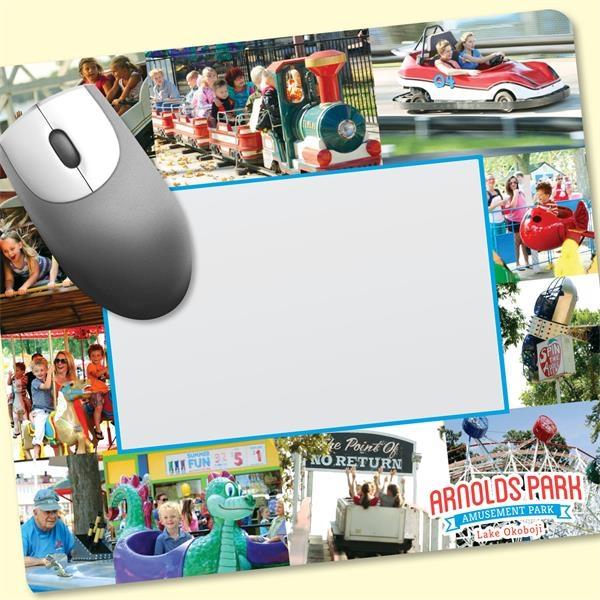 "Frame-It Flex®8""x9""x1/8"" Window/Photo Mouse Pad"