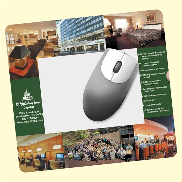 "Frame-It Flex®7.5""x8""x1/16"" Window/Photo Mouse Pad"