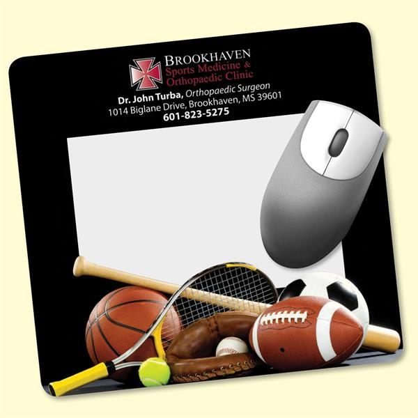 "Frame-It Flex®7.5""x8""x1/8"" Window/Photo Mouse Pad"
