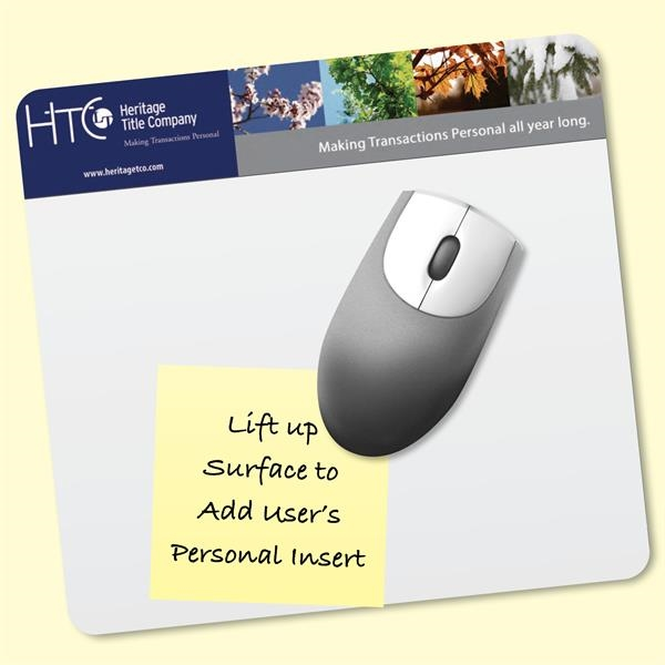 "Frame-It Lift®7.5""x8""x1/8"" DuraTec®-Lift-Top Mouse Pad"
