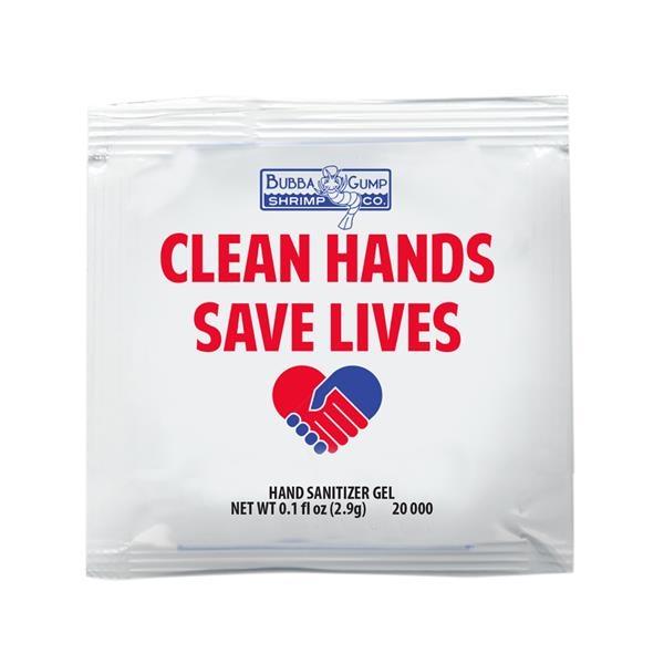 Antibacterial Hand Cleansing Gel Packet