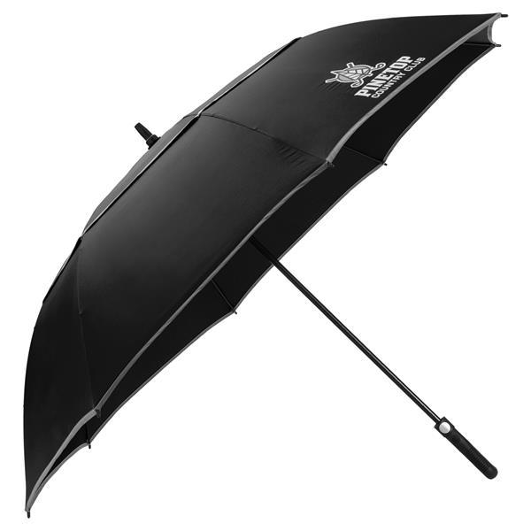 "64"" Auto Open Reflective Golf Umbrella"