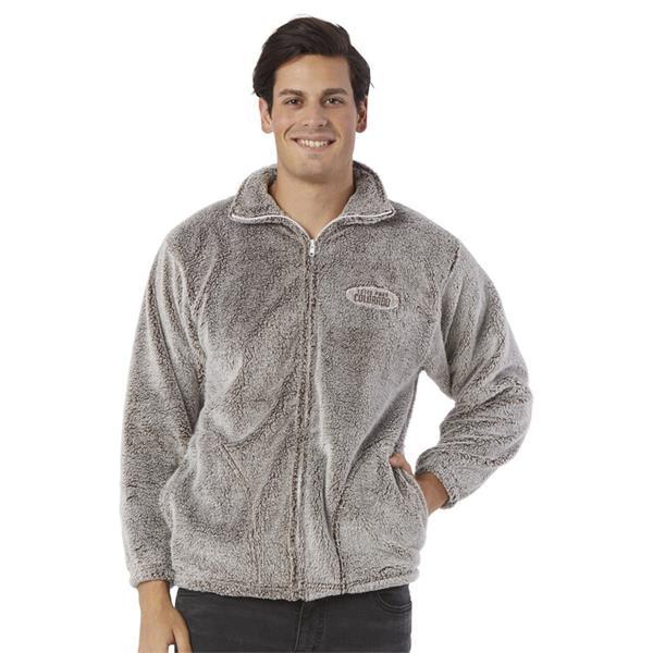 Adults Fuzzy Fullzip Jacket