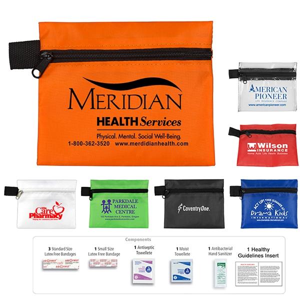 Safe Helper 8 Piece Hand Sanitizer First Aid Kit