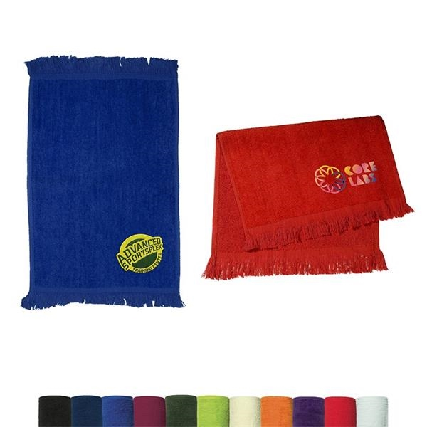 Fringed Cotton Rally Towel 11x18