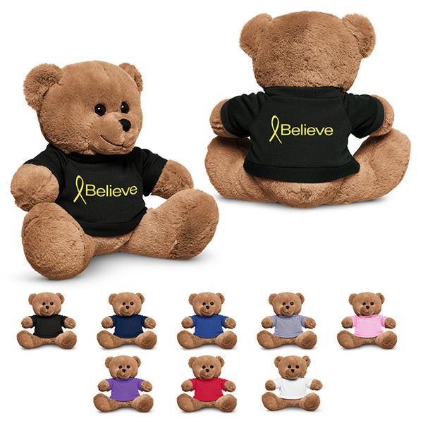 "8.5"" Plush Bear with T-Shirt"