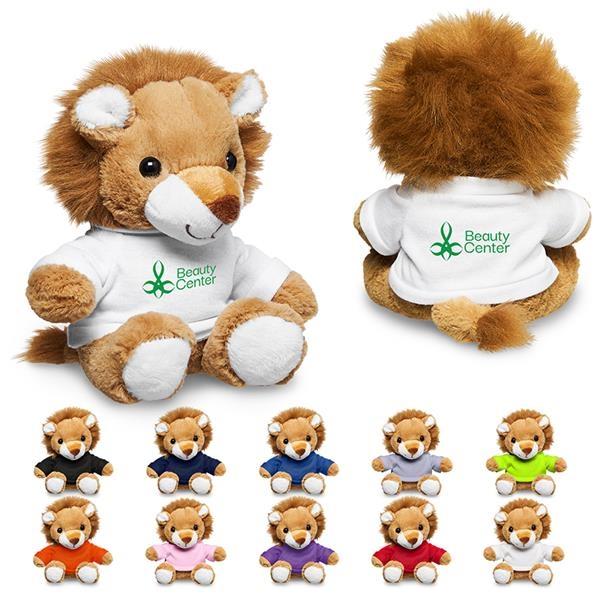 "7"" Plush Lion with T-Shirt"