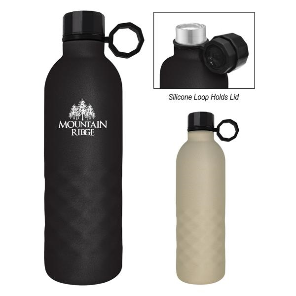 17 Oz. Arlington Sandstone Stainless Steel Bottle With Cu...