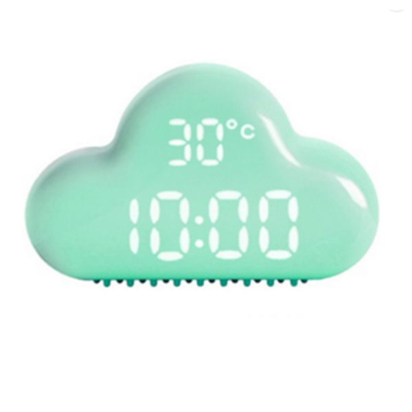 Temperature Display Cloud Smart Sensor Light Alarm Clock