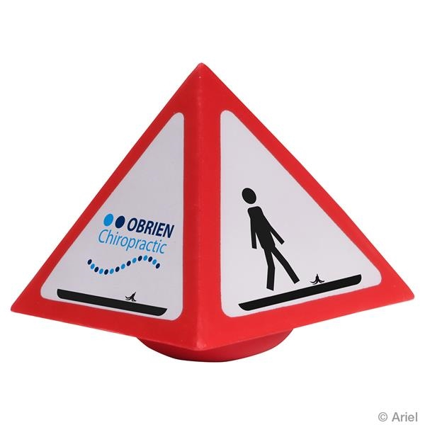 Warning Stress Reliever Wobbler