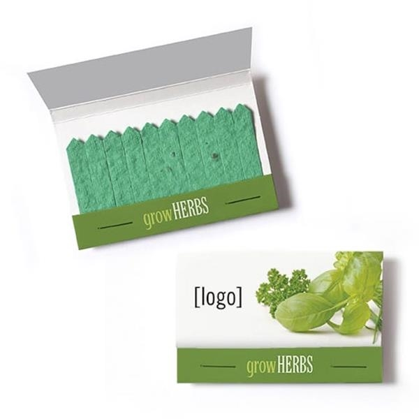 Cultivate Seed Paper Matchbook - Herbs