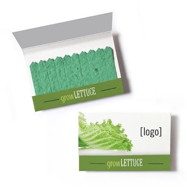 Cultivate Seed Paper Matchbook - Lettuce