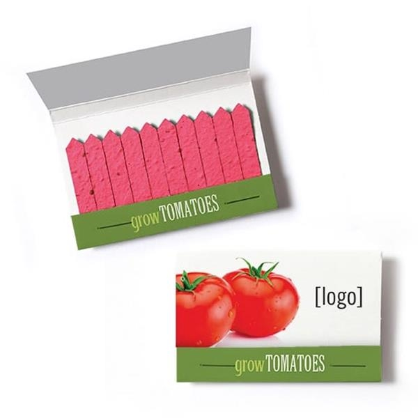 Cultivate Seed Paper Matchbook - Tomato