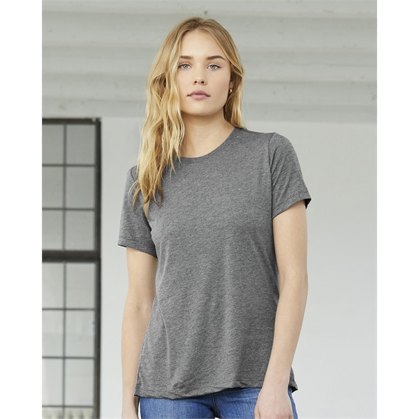 BELLA + CANVAS Women's Relaxed Fit Triblend Tee