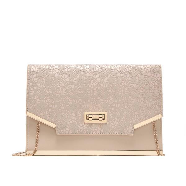 Fashion Lady Lace Envelope Chain Shoulder Messenger Bag