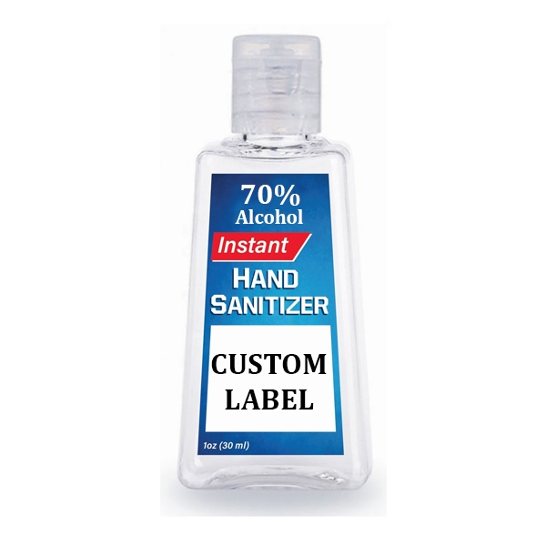 1 Oz. Rectangle Anti-Bacterial Hand Sani