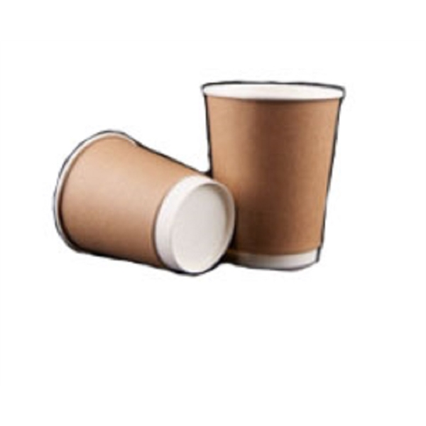 12oz Coffee paper cup with sleeve