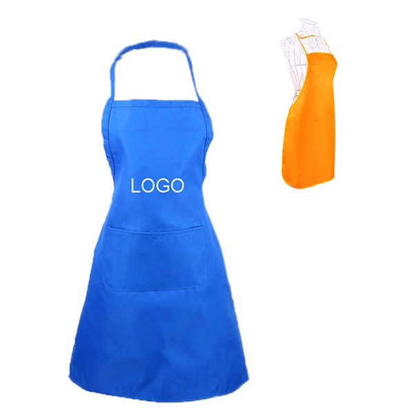 Polyester Apron with Two Pockets