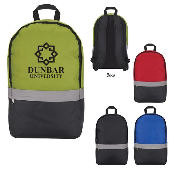 Reflective Strip Backpack