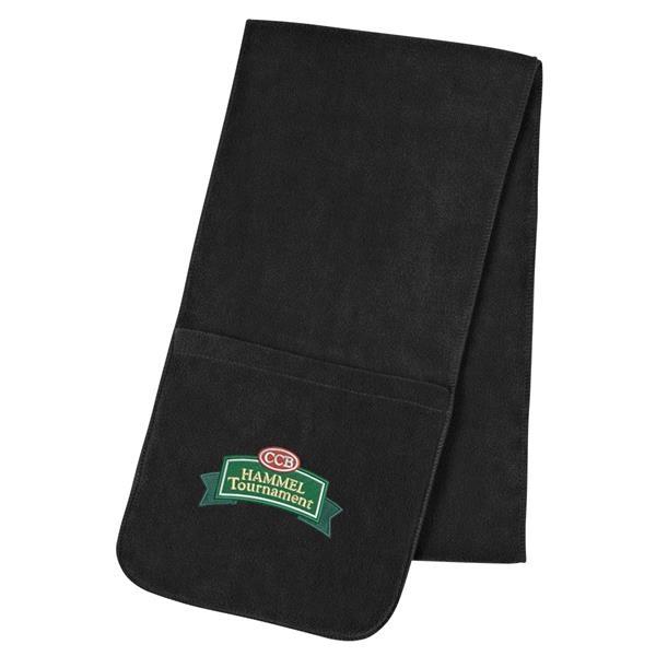 Fleece Scarf With Pockets