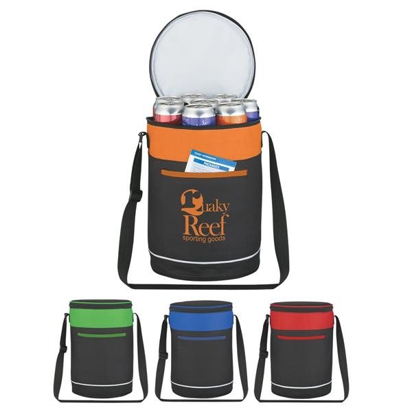 Barrel Buddy Round Kooler Bag