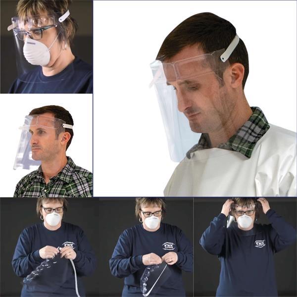 Preserve-A-Mask™ Face Shield