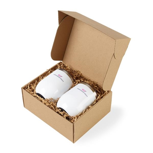 Corkcicle® Stemless Wine Cup Gift Set
