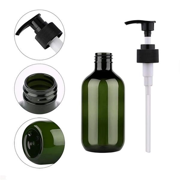 500ml Clear Empty Hand Sanitizer Bottles with pump