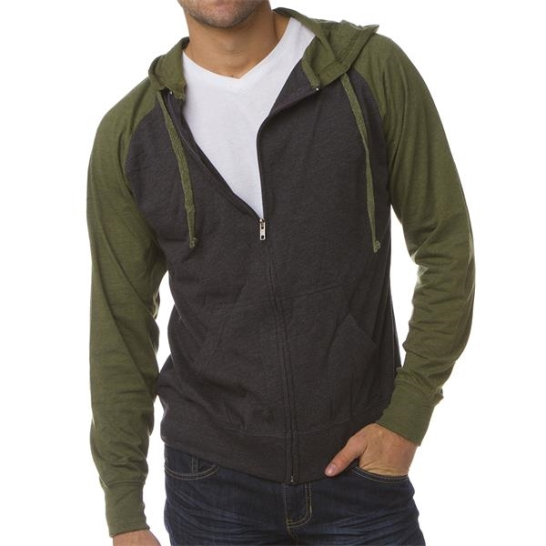 Independent Trading Company Men's Lightweight Jersey Ragl...