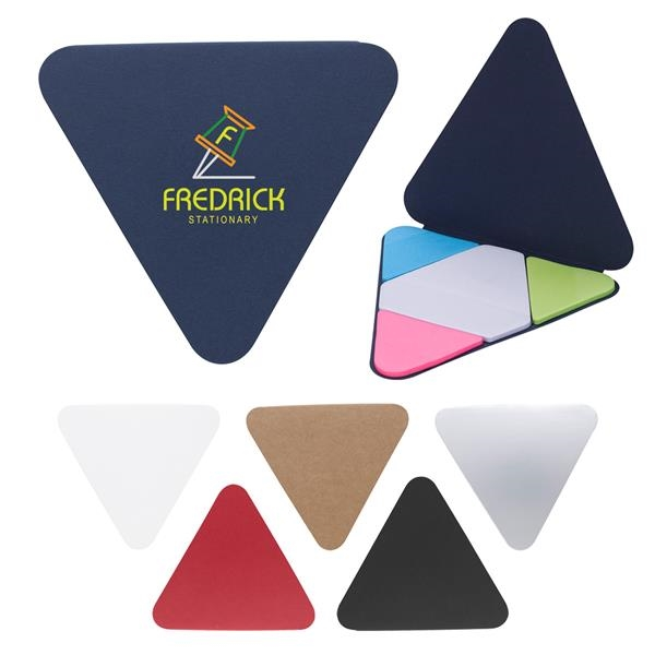 Triangle Shape Sticky Notes Pad