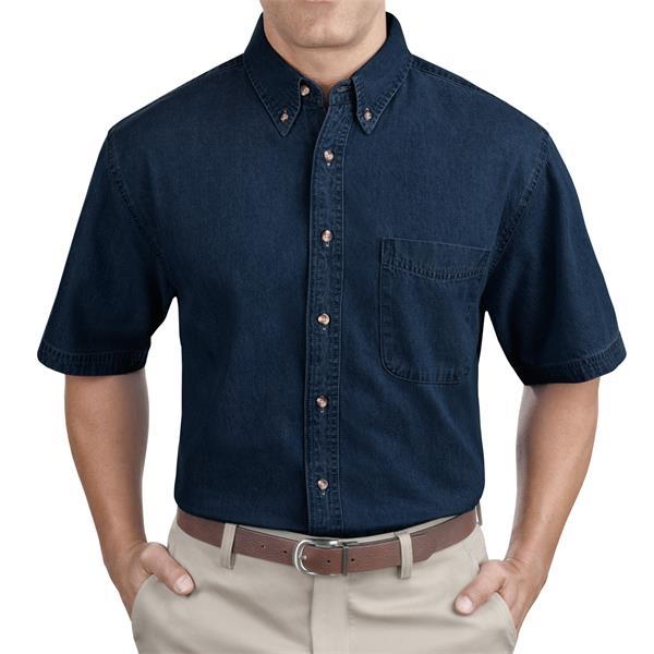 Port & Company Short Sleeve Value Denim