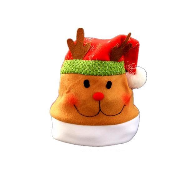 Embroidered Traditional Classic Christmas Hat