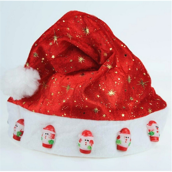 Kids Size Customized Color Felt Music Christmas Hat
