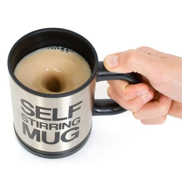 12oz Self Stirring Mug