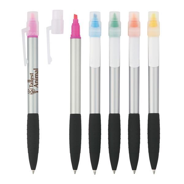 Neptune Pen With Highlighter