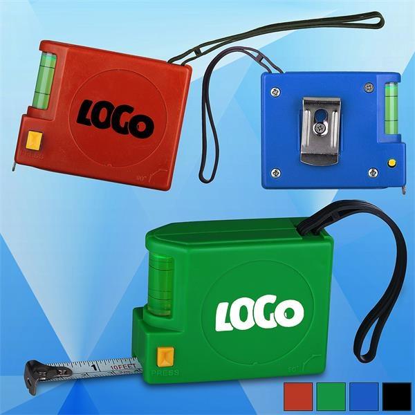 10 Ft. Locking Level Tape Measure w/ Lanyard
