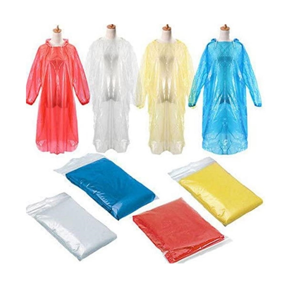 Disposable Rain Coat for Adult - Emergency Waterproof