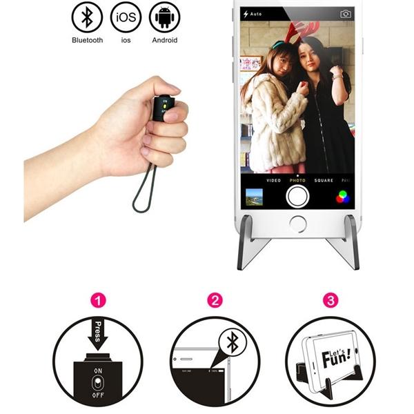 Bluetooth wireless remote control universal camera artifact