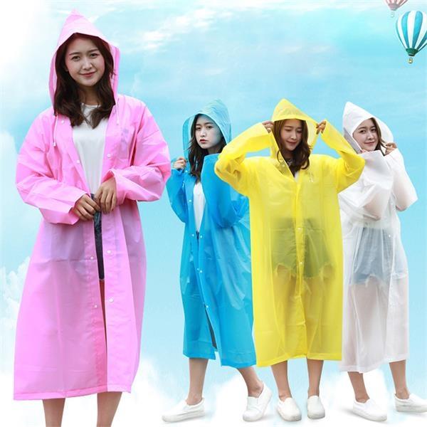 EVA Raincoat Rain Poncho